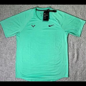 Nike Court Aeroreact Rafa Nadal Slam T-Shirt Sz M